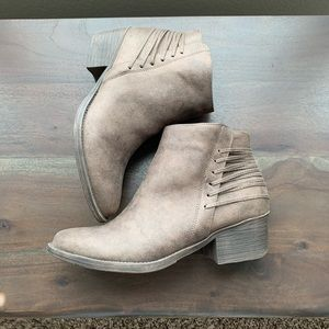 Volatile Strappy Booties Size 10